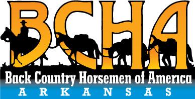Arkansas Back Country Horsemen Retina Logo