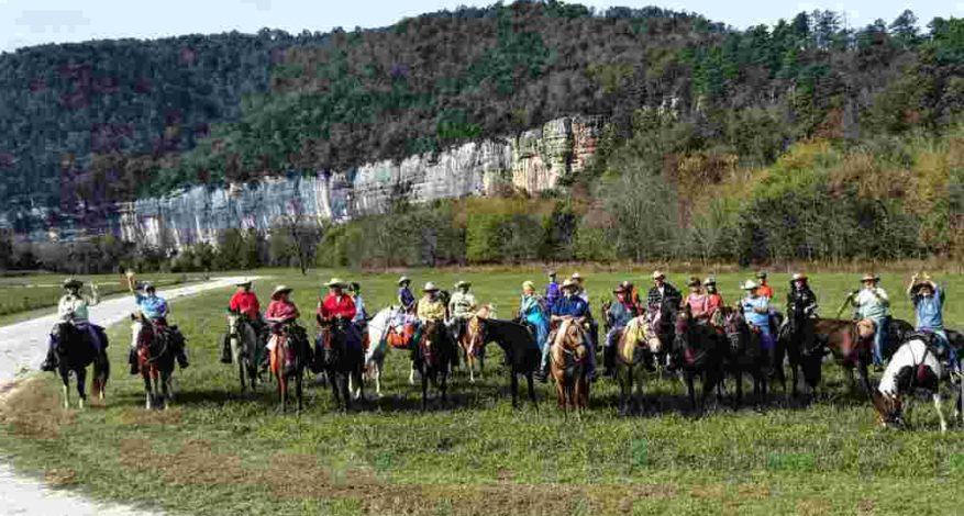 Centennial ride at Steel Creek