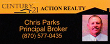 Chris Parks Century 21 Action Reality Logo