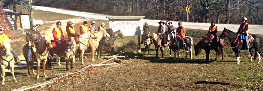 Buffalo River Back Country Horsemen Reclaim Trail