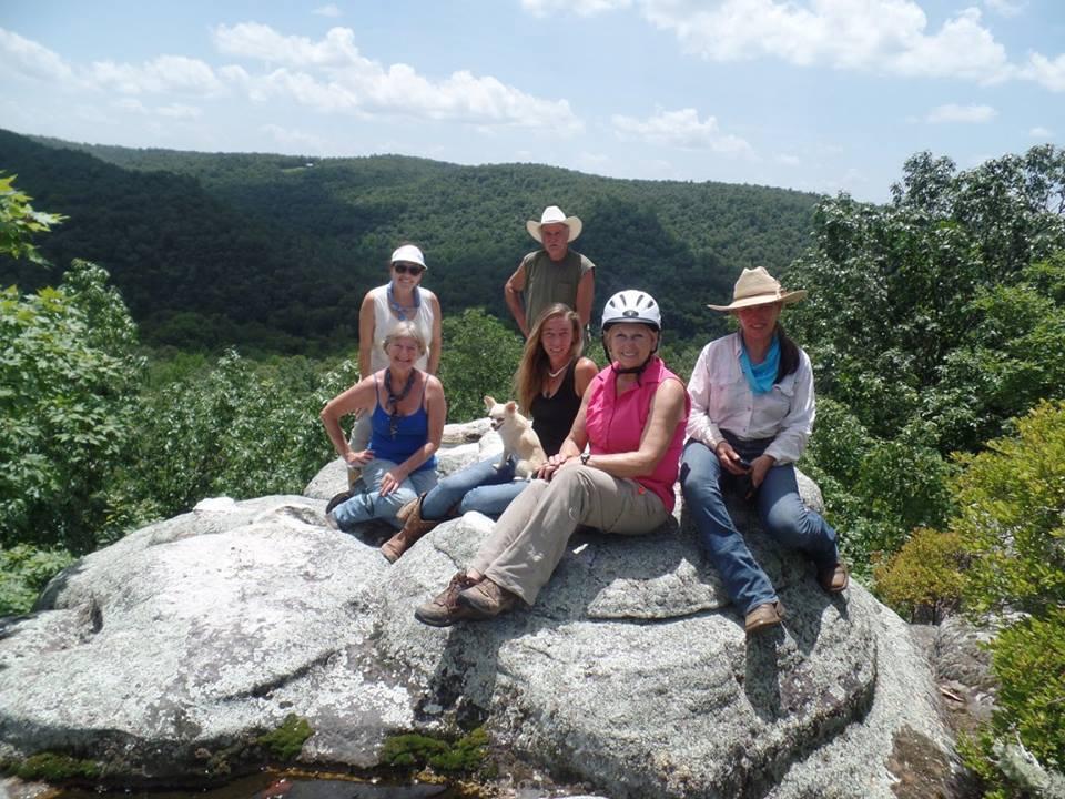 Trail Crew at Wolf Knob
