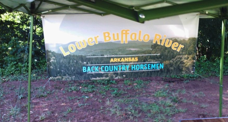 Lover Buffalo River Banner